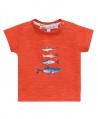 Camiseta Niño TARTINE ET CHOCOLAT Roja Peces
