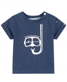 Camiseta Niño TARTINE ET CHOCOLAT Marino Buceador