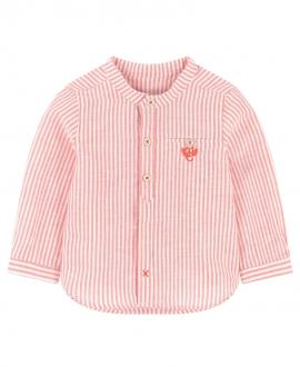 Camisa Niño TARTINE ET CHOCOLAT Mil Rayas Roja