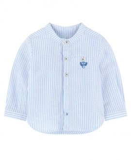 Camisa Niño TARTINE ET CHOCOLAT Mil Rayas Azul