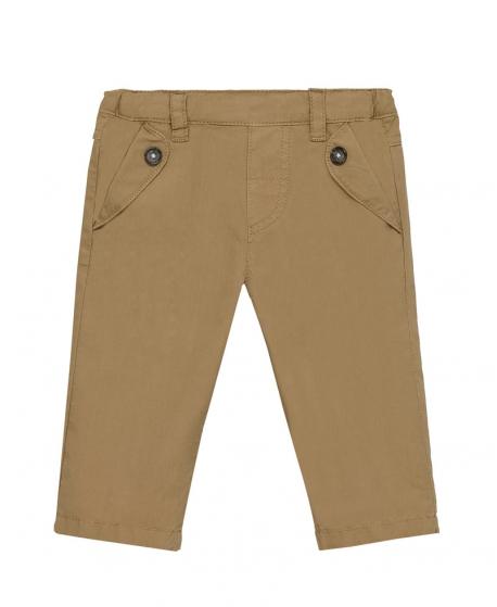 Pantalon Niño TARTINE ET CHOCOLAT Camel Popelin