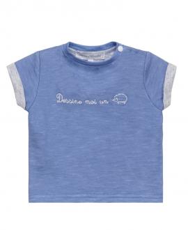 Camiseta Niño TARTINE ET CHOCOLAT Azul Erizo