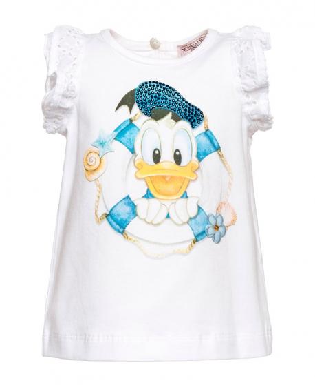 Camiseta Bebe Niña MONNALISA Donald Strass
