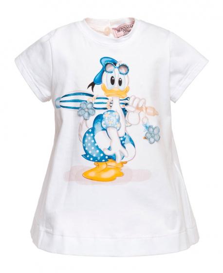 Camiseta Bebe Niña MONNALISA Maxi Donald