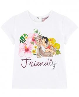 Camiseta Bebe Niña MONNALISA El Libro de la Selva Friendly