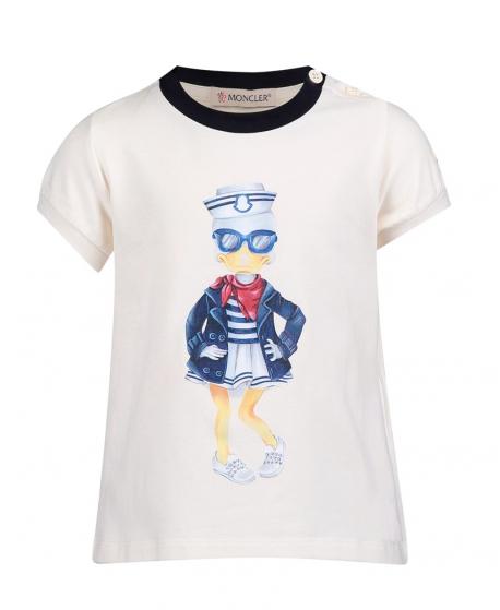 Camiseta Bebe Niña MONCLER Pato