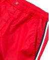 Pantalon Corto Niño MONCLER Rojo Bolsillo Trasero