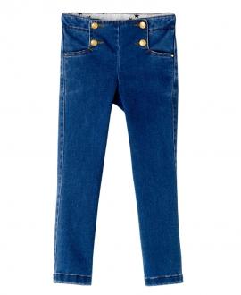 Pantalon Vaquero Azul Jean NANOS Niña