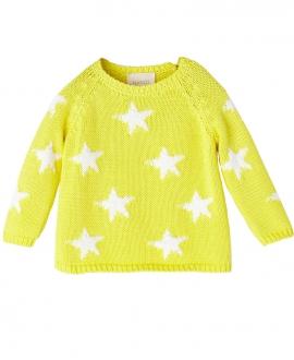 Jersey Amarillo NANOS Bebe Niño Estrellas
