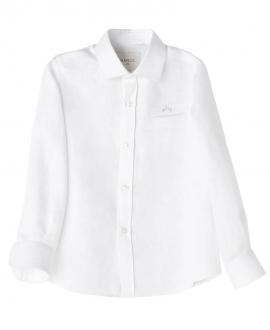 Camisa Lino Blanco NANOS Niño Manga Larga