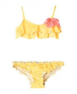 Bikini Amarillo NANOS Niña Lazo