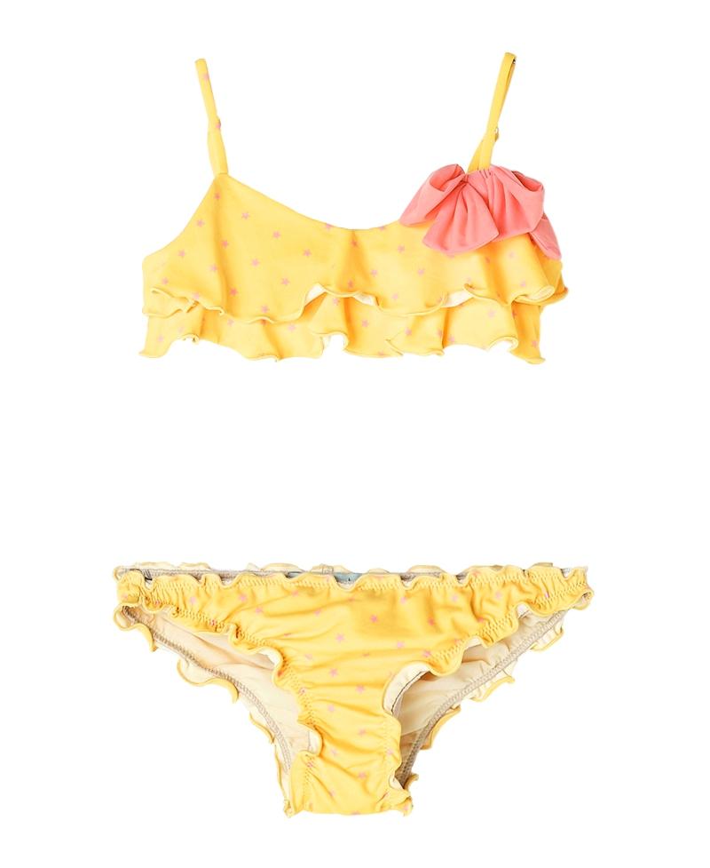 06fec6328 Bikini Amarillo NANOS Niña Lazo - Ro Infantil