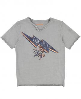 Camiseta Niño ZADIG & VOLTAIRE Gris Cuello Túnez