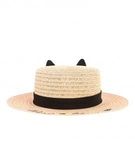 Sombrero Niña KARL LAGERFELD Paja Cat