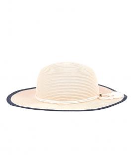 Sombrero Niña CHLOÉ Paja Borde Contrastado