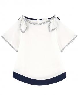 Camiseta Niña CHLOÉ Nudo hombros