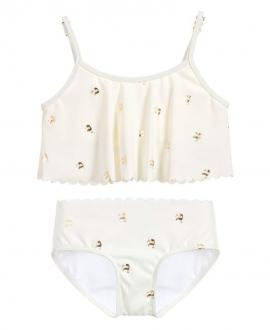 Bikini Niña CHLOÉ Tucanes Dorados