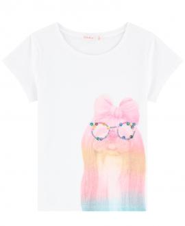 Camiseta Niña BILLIEBLUSH Perro Gafas