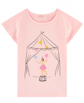 Camiseta Niña BILLIEBLUSH Rosa Circo
