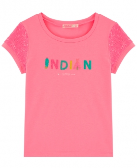 Camiseta Niña BILLIEBLUSH Lentejuelas Indian