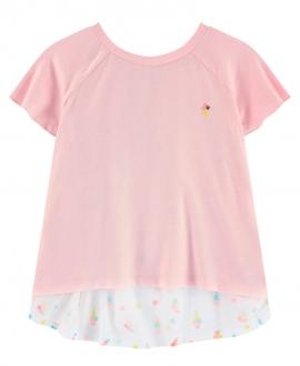 Camiseta Niña BILLIEBLUSH Rosa Purpurina