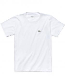 Camiseta Niño LACOSTE Técnica Blanca