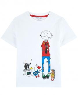 Camiseta Niño LITTLE MARC JACOB Gris