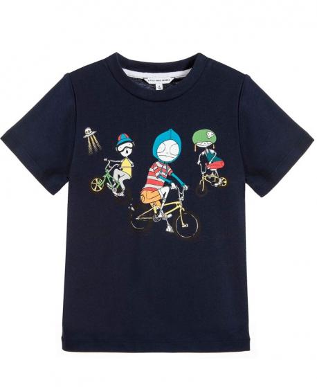 Camiseta Niño LITTLE MARC JACOB Marino