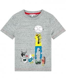 Camiseta Niño LITTLE MARC JACOB Roja