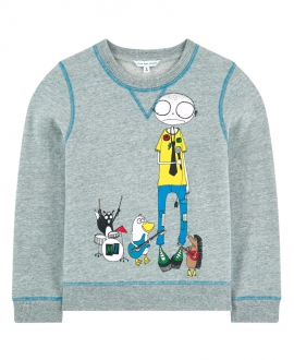 Sudadera Niño LITTLE MARC JACOB Gris