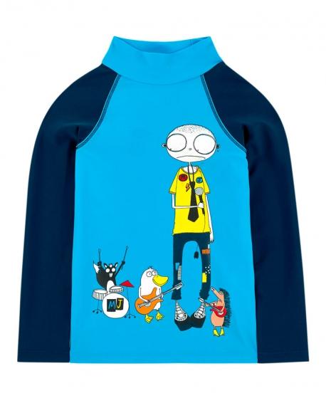 Camiseta Niño LITTLE MARC JACOB Azul anti-UV