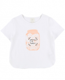 Camiseta Niña CARREMENT BEAU Blanca