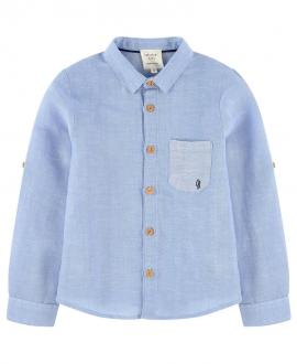Camisa Niño CARREMENT BEAU Azul Lino