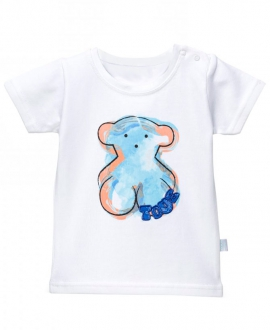 Camiseta Niño BABY TOUS Playa Oso Azul