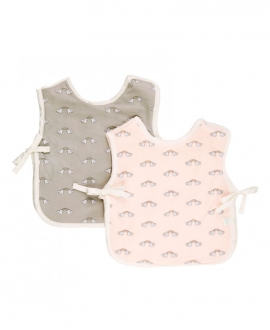 Set Baberos BABY TOUS Cheer Rosa