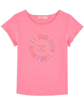 Camiseta Niña BILLIEBLUSH Rosa Sunshine