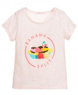 Camiseta Niña BILLIEBLUSH Rosa Palo Banana