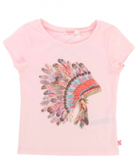 Camiseta Niña TARTINE ET CHOCOLAT Rosa Plumas