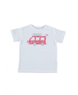 Camiseta Niño AL AGUA PATOS Blanca Patos