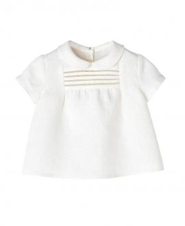 Camisa Lino Crudo NANOS Bebe Niño