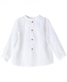 Camisa Lino Blanca NANOS Bebe Niño
