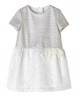 Vestido Plata NANOS Niña