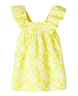Vestido Amarillo NANOS Niña Flores