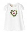 Camiseta Punto Crudo NANOS Niña Corazón