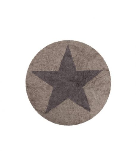 Alfombra Lavable Reversible Lorena Canals Star Linen