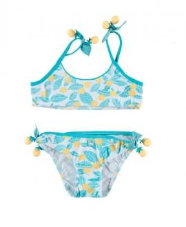 Bikini Niña AL AGUA PATOS Lemon