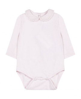 Body Bebe TARTINE ET CHOCOLAT Rosa Cuello