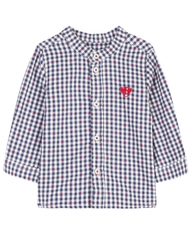 Camisa Niño TARTINE ET CHOCOLAT Marino Puntos Rojos
