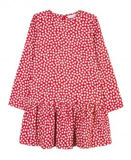 Vestido Niña TARTINE ET CHOCOLAT Estampado Flor Roja