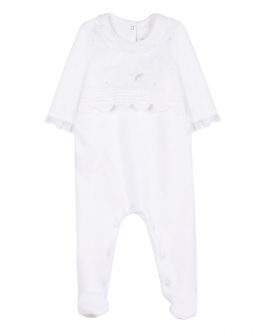 Pijama Bebe TARTINE ET CHOCOLAT Terciopelo Blanco